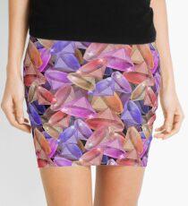 Placer precious stones gems .  Mini Skirt