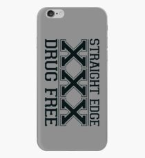 Straightedge - Drug Free iPhone Case
