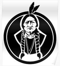 Sitting Bull Native American Poster