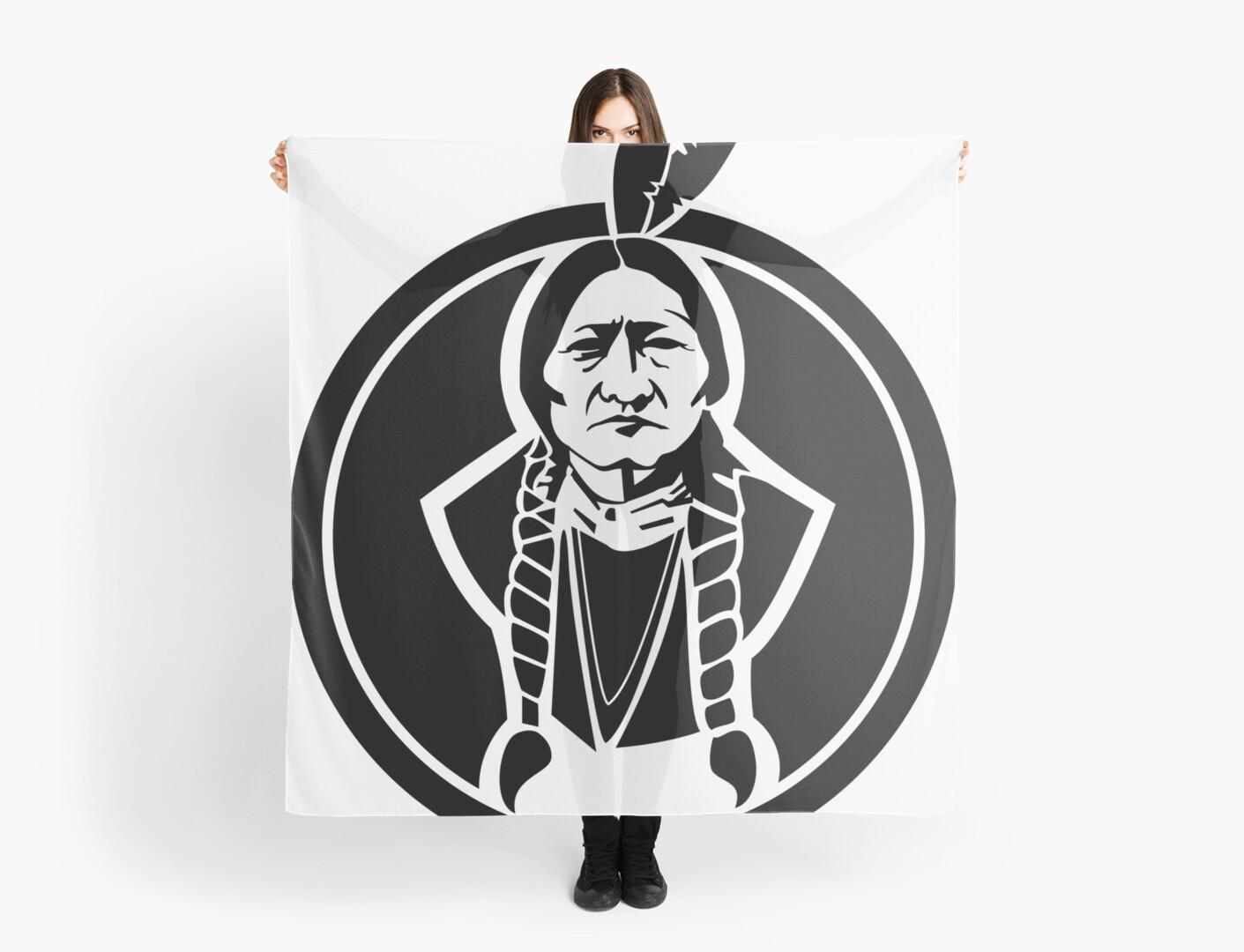 Sitting Bull Native American by Chocodole