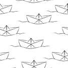 Papierschiff von Viktoriia