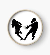 American Football in Action Clock
