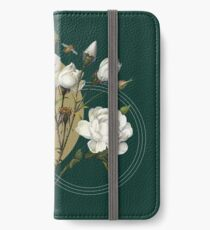 Winterblüten iPhone Flip-Case/Hülle/Skin