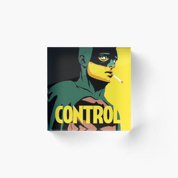 Control Acrylic Block