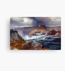 Great Falls of Snake River Canvas Print
