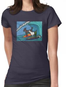 Surfing Goats Womens Fitted T-Shirt