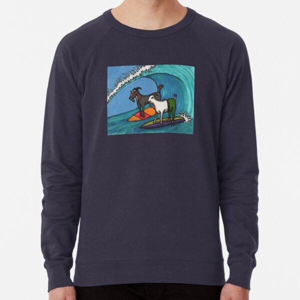 Surfing Goats Lightweight Sweatshirt