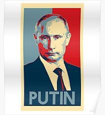 Póster Vladimir Vladimirovich Putin - Presidente de Rusia