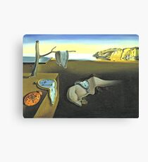 Melting Clocks Salvador Dali Fine Art	 Canvas Print