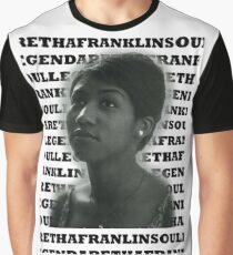 Aretha Franklin Soul Legend Graphic T-Shirt