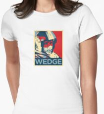 Wedge - Hero of the Rebellion : Inspired By Star Wars Womens Fitted T-Shirt