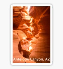 Antelope Canyon, AZ Sticker