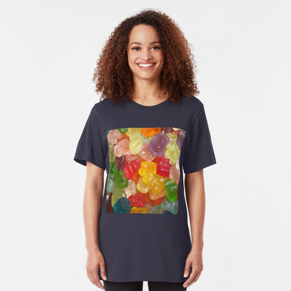 Bears Everywhere Slim Fit T-Shirt