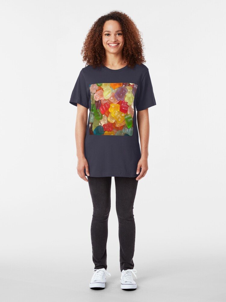 Alternate view of Bears Everywhere Slim Fit T-Shirt