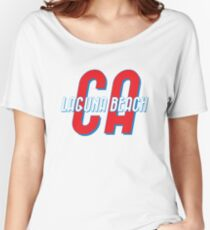 Laguna Beach California Vintage Women's Relaxed Fit T-Shirt