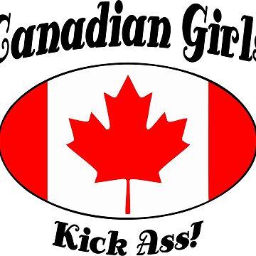 Canadian Girls Kick Ass! by IZZYBEEP