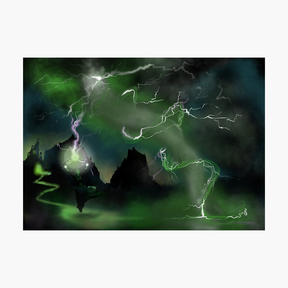 Fury of The Wicked Witch  Photographic Print