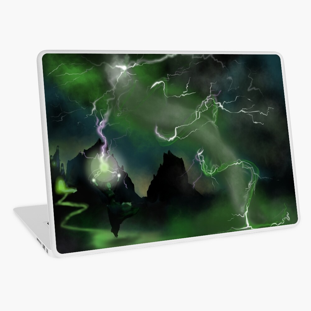 Fury of The Wicked Witch  Laptop Skin