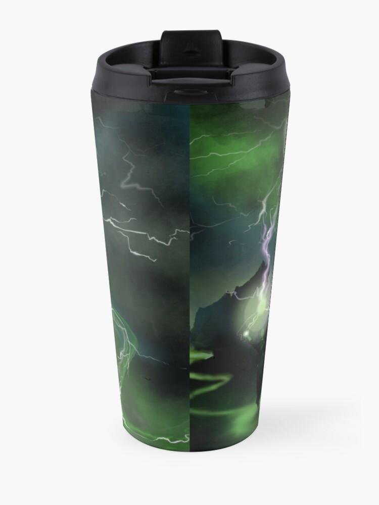 Alternate view of Fury of The Wicked Witch  Travel Mug