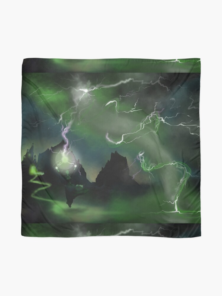 Alternate view of Fury of The Wicked Witch  Scarf