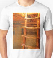 Pueblos Indian Kiva Ladder T-Shirt