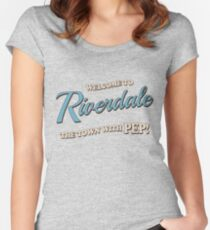 Riverdale - Welcome To Riverdale Women's Fitted Scoop T-Shirt