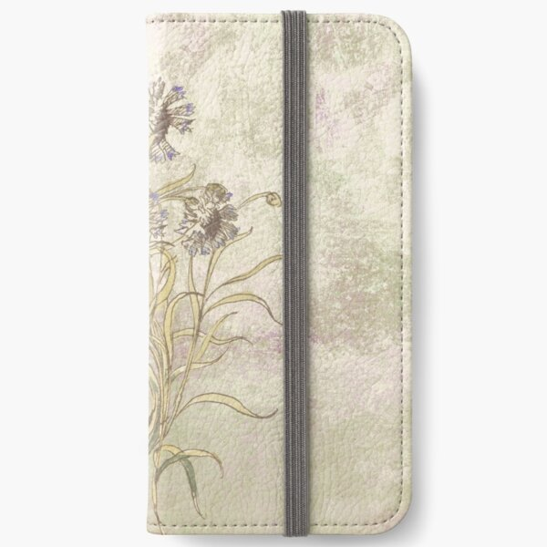 The flowers are singing iPhone Wallet