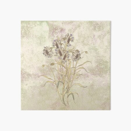 The flowers are singing Art Board Print
