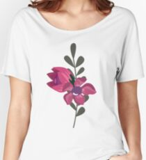 Lilac Flower Women's Relaxed Fit T-Shirt