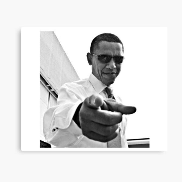 Obama Impression sur toile