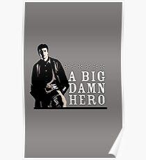 Firefly's Malcolm Reynolds: A Big Damn Hero Poster