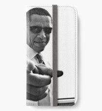 Vinilo o funda para iPhone Obama