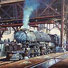 Union Pacific Big Boy. by Mike Jeffries