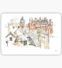 Lendal Bridge, York Sticker
