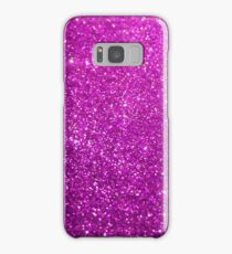 Purple Glitter Shiny Sparkley Samsung Galaxy Case/Skin