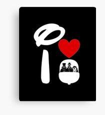 I Heart Haunted Mansion (Inverted) Canvas Print