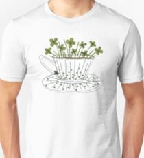Lucky Cup of Clovers Unisex T-Shirt