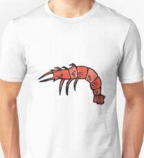 cartoon shrimp Unisex T-Shirt