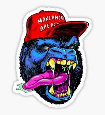 Make America Ape Again Sticker
