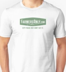 Farmers Only (green logo) Unisex T-Shirt