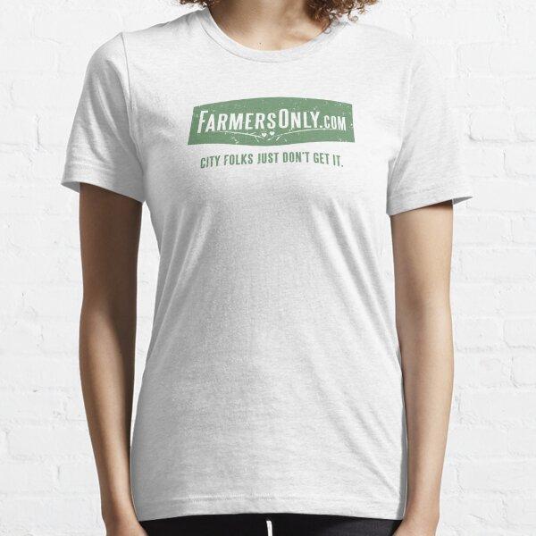 Farmers Only (green logo) Essential T-Shirt