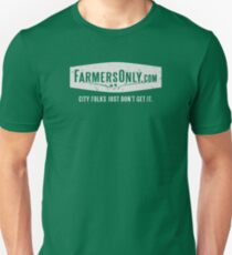 Farmers Only (white logo) T-Shirt