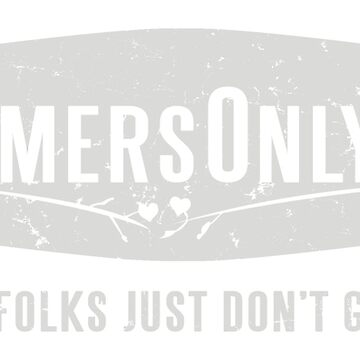 Farmers Only (white logo) by A-Game