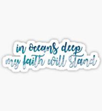 Oceans Lyric Sticker
