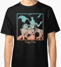 Dirty Pair Transparent  Classic T-Shirt