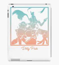 Dirty Pair Transparent  iPad Case/Skin