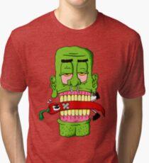 SO HIGH GREEN MAN Tri-blend T-Shirt