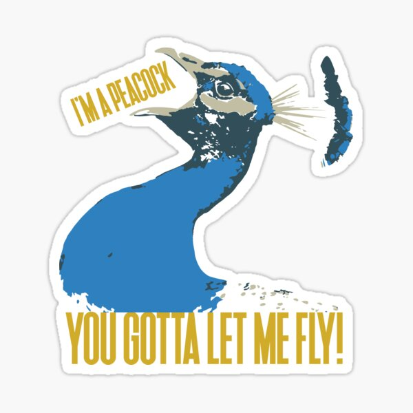 Let Me Fly Sticker