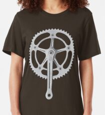 Campagnolo Track Chainset, 1974 Slim Fit T-Shirt