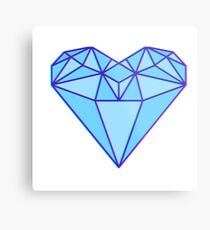 Love Diamond Metal Print